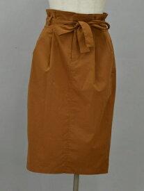 アナディス d'un a dix 共布ベルト スカート 36サイズ ブラウン レディース F-M11364【中古:良品】【ブランド買取販売トリヴァンドラム】200104