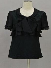 トゥービーシック TO BE CHIC Tシャツ/カットソー 3サイズ ブラック レディース F-S3992【中古】【ブランド買取販売トリヴァンドラム】200604