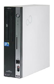 Windows7 Pro HDDリカバリー領域有/富士通 FMV-ESPRIMO D5290 Core2 Duo 2.93GHz/2GB/160GB/DVD/Office 2013付 即日発送 中古パソコン デスクトップ
