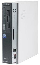 Windows XP Pro HDDリカバリー領域有/富士通 ESPRIMO D5290 Core2 Duo 2.93GHz/2GB/160GB/DVD/Office 2016付き 中古パソコン デスクトップ