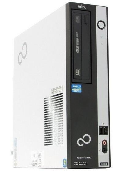 【新品1GBグラボ搭載 HDMI端子有】Windows7 Pro 32BIT搭載/富士通 ESPRIMO D582/Core i5-3470 3.20GHz/4GB/新品SSD 240GB/DVD/無線LAN/Office付き【中古パソコン】【デスクトップ】