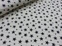 星柄スター オフホワイト白 キルト  キルティング 宇宙 生地 布 入園入学 通園通学 女の子 男の子 布団袋 レ…