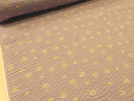 1m単位 おぐらみこデザイン リップル ハルジオンとチョウチョ ヴァイオレット【メール便2m可】 生地 布地 浴衣 ゆかた ジンベイ 甚平 ブラウス シャツ ステテコ パジャマ シャツ ワンピース サマー 涼しい