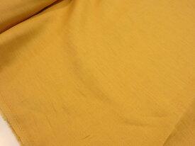 ワイド巾カラーリネン無地 イエロー黄色kf3919 【メール便1,5m可】W巾 広巾 生地 布地 服地 リネン 麻 あさ