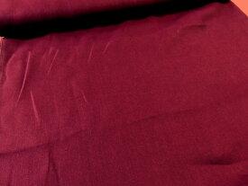 ワイド巾カラーリネン無地 ワインレッドkf3919 【メール便1,5m可】W巾 広巾 生地 布地 服地 リネン 麻 あさ