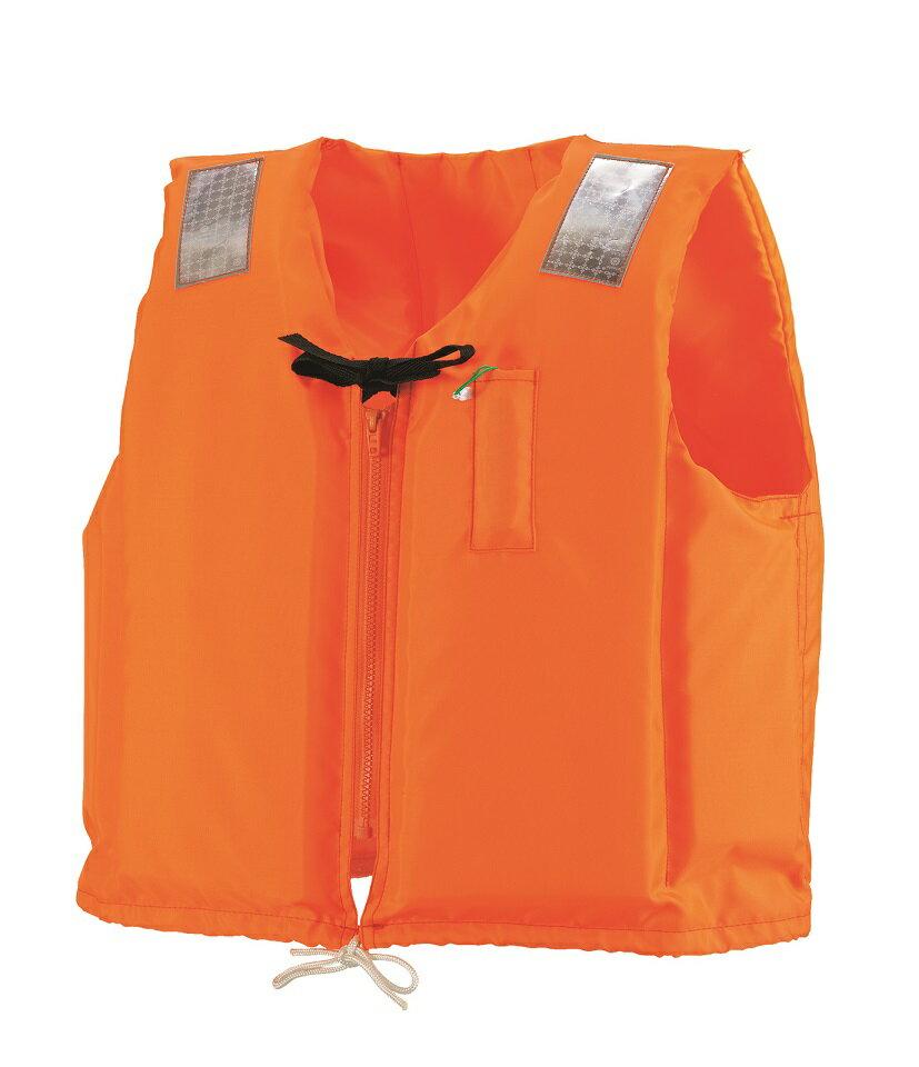ライフジャケット 小型船舶用  C−2 オレンジ 救命胴衣 津波水害対策 防災