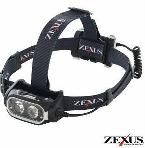 フジ LED ZEXUS ヘッドライト ZX-R700 充電式(フィッシング 釣り つり アウトドア led キャンプ用品 ヘッド ライト 作業用 防水 釣り用品 ネックライト 釣り具 夜釣り 作業ライト ヘッドランプ ledヘッドランプ ledヘッドライト)