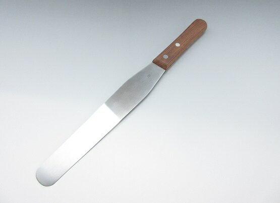 孝行 木柄 スパテル 14インチ 刃渡り355mm