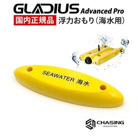 GLADIUS Advanced Pro専用 浮力重り 海水用 国内正規品 CHASING INNOVATION グラディウスプロ