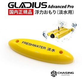 GLADIUS Advanced Pro専用 浮力重り 淡水用 国内正規品 CHASING INNOVATION グラディウスプロ