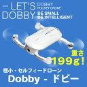 【並行輸入品】ポケットサイズのセルフィードローン - Dobby (ドビー) 豪華お買い得セット ケース・予備バッテリー・バンパー付