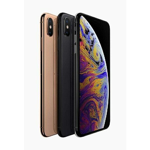 Apple iPhone XS Max 6.5型OLED版 SIMフリー 256GB DUAL SIM対応 本体【香港正規品】物理的ダブルシム搭載可能【並行輸入/新品】MZ742ZA/A MZ752ZA/A MZ762ZA/A