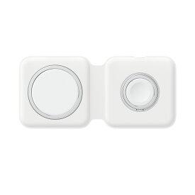【Apple(アップル)純正】【Qi充電】MagSafeデュアル充電パッド 充電器 マグセーフ【新品/未使用】【並行輸入版】【MHXF3ZA/A】