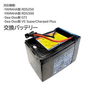 交換バッテリー 長寿命 YAMAHA ZS4C2 ZS05 ヤマハ 水中スクーター シースクーター SEASCOOTER RDS300 RDS250 GTI ジーティアイ VS SuperChargedPlus 5A 40 12Ah