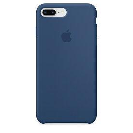 【ネコポス】【APPLE アップル】【純正】iPhone 8 Plus / 7 Plus用 シリコンケース ブルーコバルト【MQH02FE/A】