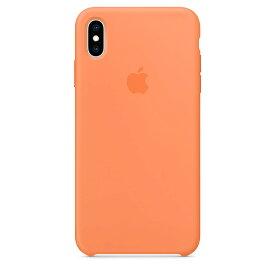 【ネコポス】【APPLE アップル】【純正】iPhone XS Max用 シリコンケース パパイヤ【MVF72FE/A】