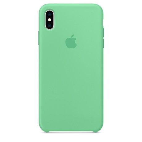 【ネコポス】【APPLEアップル】【純正】iPhoneXSMax用シリコンケーススペアミント【MVF82FE/A】