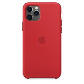 【ネコポス】【APPLE アップル】【純正】iPhone 11 Pro用 シリコンケース (PRODUCT)RED【MWYH2FE/A】