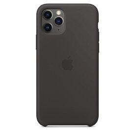 【楽天お買い物マラソン】【ネコポス】【APPLE アップル】【純正】iPhone 11 Pro用 シリコンケース ブラック【MWYN2FE/A】
