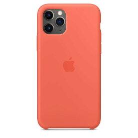 【楽天お買い物マラソン】【ネコポス】【APPLE アップル】【純正】iPhone 11 Pro用 シリコンケース クレメンタイン【MWYQ2FE/A】