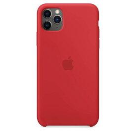 【楽天お買い物マラソン】【ネコポス】【APPLE アップル】【純正】iPhone 11 Pro Max用 シリコンケース (PRODUCT)RED【MWYV2FE/A】