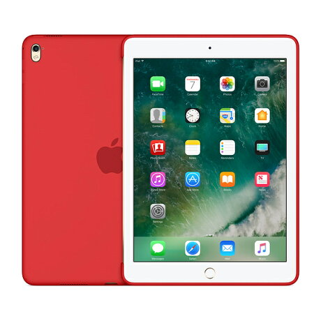 【ネコポス】【APPLEアップル】【純正】9.7インチiPadPro用シリコーンケース(PRODUCT)RED【MM222FE/A】