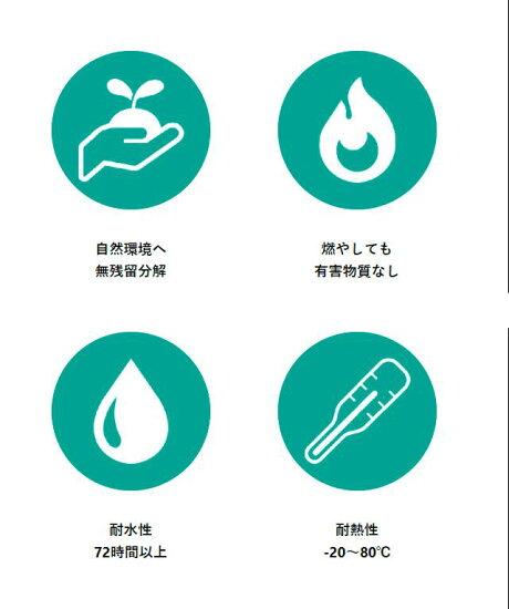竹繊維ストロー<お試しパック>タピオカサイズ(12mm×100本)