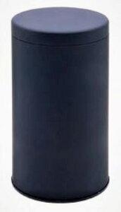 キャニスター 大 無地 紺/ネイビー コーヒー缶 コーヒー (保存容器) ロゴ無し 容量500g