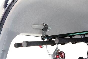 【UIvehicle/ユーアイビークル】ハイエース200系専用ロッドホルダー標準ボディ(スーパーGL,S-GL)専用車内釣り竿ホルダー6or7本用汎用性ではない安定感!安心の日本製!!
