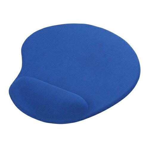 バッファロー マウスパッド リストレスト一体型 低反発タイプ ブルー マウスパット☆BSPD11BL★【送料無料】|1803BFTT^
