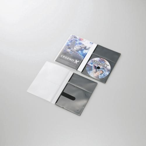 エレコム 市販デイスク圧縮ケース/DVD/1枚収納/30枚/ブラック ☆CCD-DPD30BK ≪おまとめセット【2個】≫★【あす楽】【送料無料】 1302ELZC^