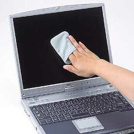 サンワサプライ ディスプレイクリーニングパッド ( ブルー ) CD-CC23BL 液晶クリーナー 液晶画面クリーナー クリーニングクロス パッドタイプ ブルー