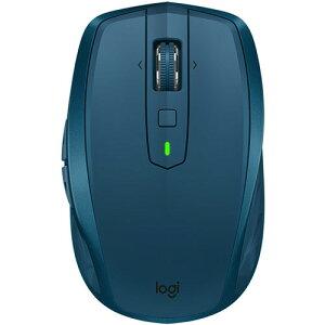 ロジクール MX Anywhere 2S ワイヤレス モバイルマウス Sサイズ ミッドナイト ティール MX1600sMT 1個