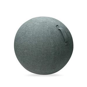 エレコム ELECOM バランスボール カバー 75cm ファブリックカバー インテリア ハンドル付き 持ち運び簡単 ポリエステル グレー エクリアスポーツ HCF-BBC75GY