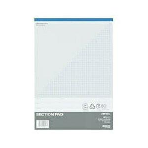 コクヨ レ-E520 セクションパッド 薄口A4 5ミリ方眼罫50枚※商品は1点(個)の価格になります。