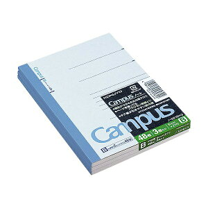コクヨ ノ-221BX3 キャンパスノート A6 48枚 3冊組 ※商品は1点 ( 個 ) の価格になります。