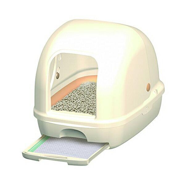 デオトイレ 1週間消臭・抗菌デオトイレ フード付き本体セット ( アイボリー ) トイレ 猫 ネコ ねこ キャット cat ニャンちゃん【 送料無料 】※商品は1点 ( 個 ) の価格になります。