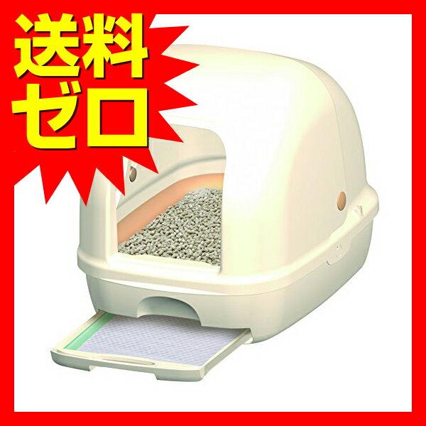 デオトイレ 1週間消臭・抗菌デオトイレ フード付き本体セット (アイボリー) トイレ 猫 ネコ ねこ キャット cat ニャンちゃん 送料無料 ※商品は1点 (個) の価格になります。