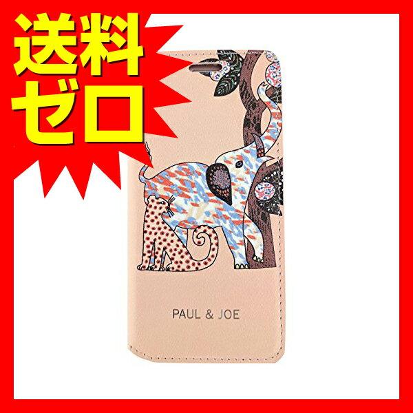 iPhone 7 Plus ケース PAUL&JOE PU エアージェイ アイフォン7 プラス Booktype Case - Elephant