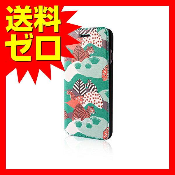 iPhone 7 Plus ケース PAUL&JOE PU エアージェイ アイフォン7 プラス Booktype Case - Jungle