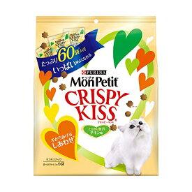 モンプチ クリスピーキッス 贅沢チキン味 180g ( 3g×60袋 ) [猫用おやつ] キャットフード 猫 ネコ ねこ キャット cat ニャンちゃん※商品は1点 ( 個 ) の価格になります。