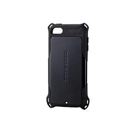 エレコム iPod Touch 【 第6世代 】 衝撃吸収 ZEROSHOCK スタンダード ブラック AVA-T17ZEROBK / ZEROSHOCKケース / ブラック 【 あす楽 】 ELECOM