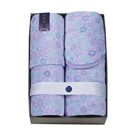 京都西川 わた入り毛布&敷パットセット ブルー