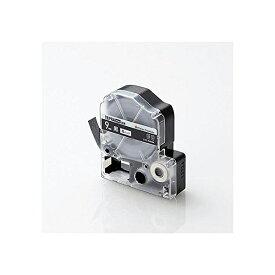 Color Creation テプラ テープ 互換 テプラPRO 9mm ビビット ブラック 8m 白文字 CTC-KSD9K エレコム テプラPRO用互換テープ / ビビッド 9mm幅 ELECOM