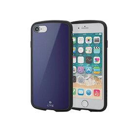 エレコム iPhone 8 ケース 衝撃吸収 【 落下時の衝撃から本体を守る 】 TOUGH SLIM LITE 7対応 ネイビー PM-A17MTSLNV iPhone8 / 【 あす楽 】 ELECOM