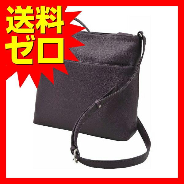 良品工房 日本製牛革手作りショルダーバッグ パープル B9119?103PA|1805SDTT^