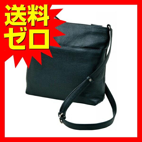 良品工房 日本製牛革手作りショルダーバッグ ブラック B9119?103B 良品工房|1805SDTT^