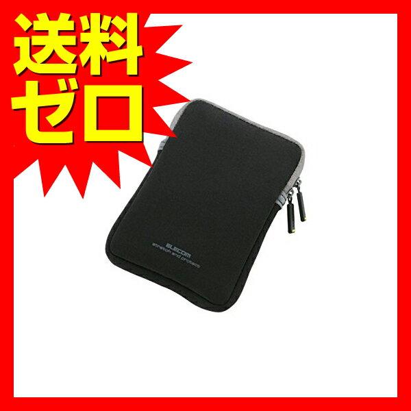 エレコム HDDケース ネオプレン Sサイズ (内寸:W82 H122 D16.5) ブラック HDC-NC002BK 【送料無料】