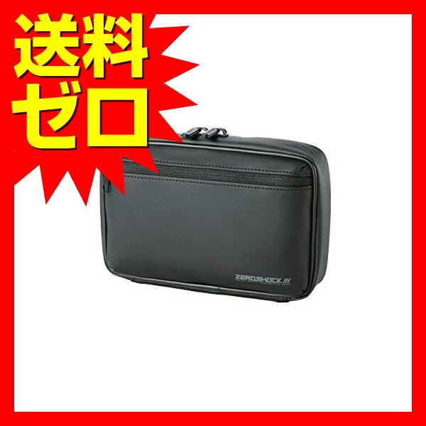 エレコム HDDケース 衝撃吸収 Lサイズ (内寸:W91 H144 D26) ブラック ZSB-HD003BK 【あす楽】 【送料無料】