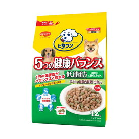 ビタワン 5つの健康バランス 低脂肪 チキン味・野菜・小魚入り 小粒1.2kg ドッグフード ドックフード 犬 イヌ いぬ ドッグ ドック dog ワンちゃん ※商品は1点 ( 個 ) の価格になります。